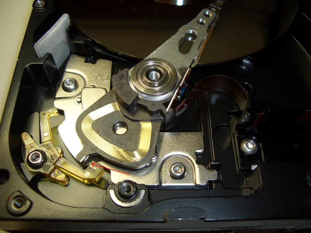 The clicking sound may not mean that hard disk recovery is needed
